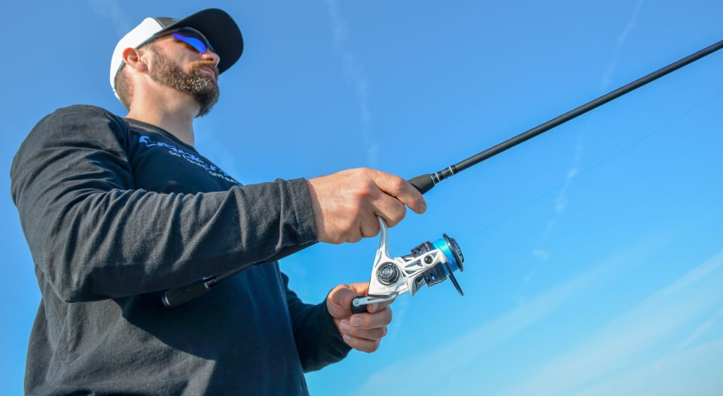 Using A Spinning Rod And Reel, You Can Catch Almost Anything